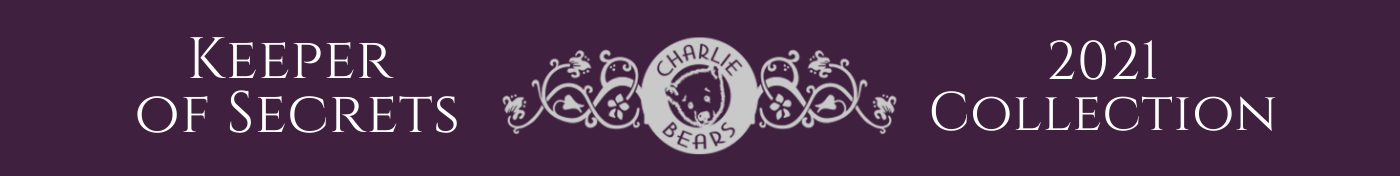 Charlie Bear 2021 collection - Keeper of Secrets