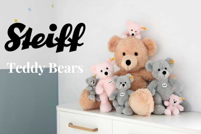 Steiff teddy bears