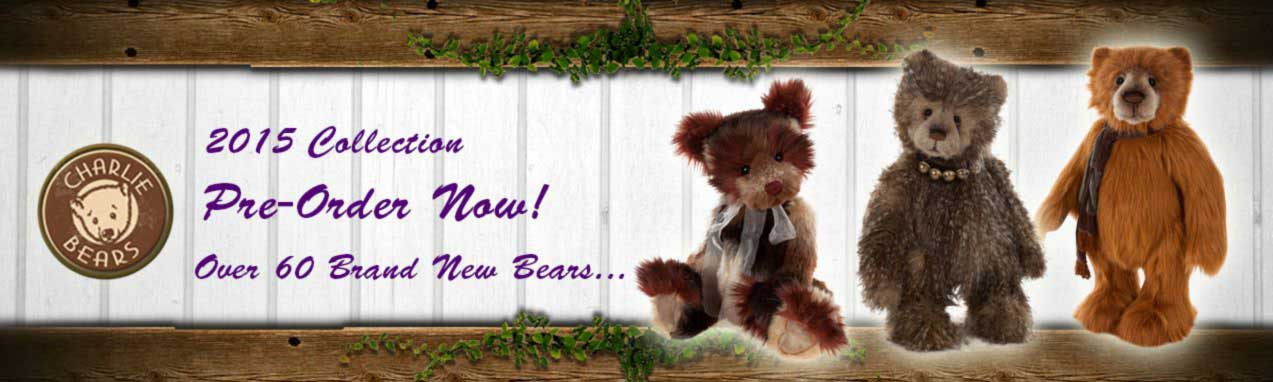 Charlie Bears 2015